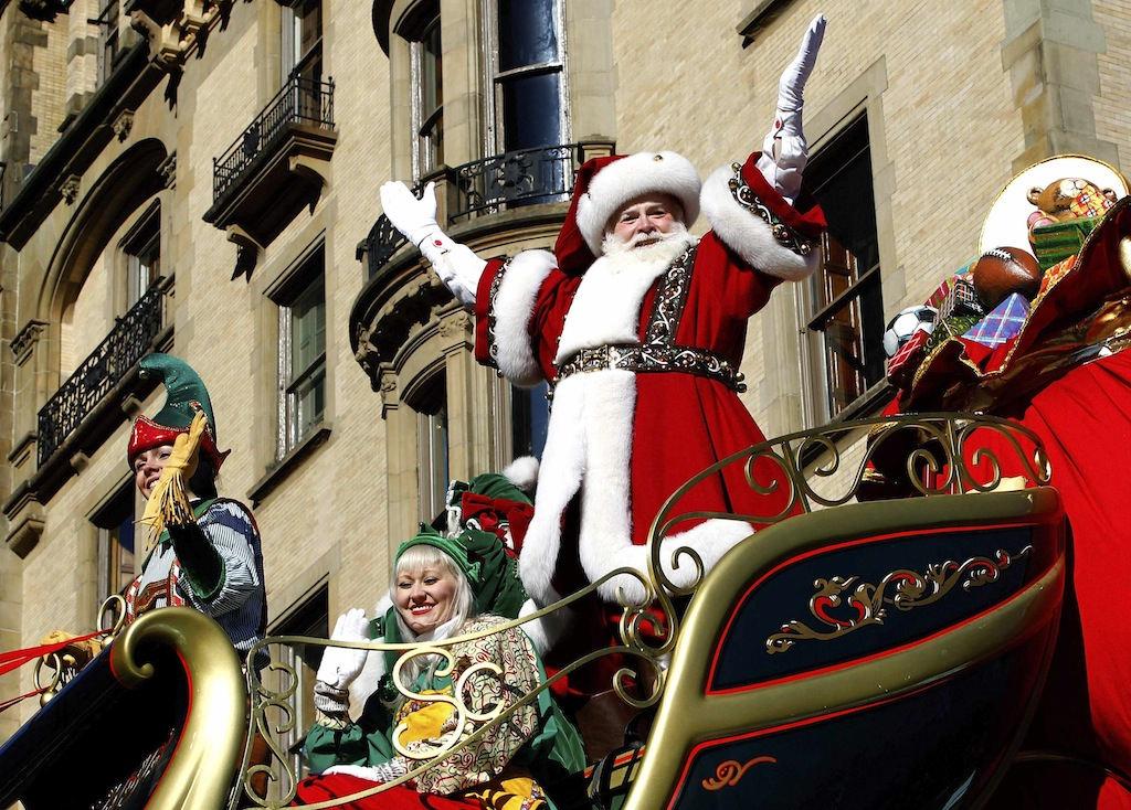 Santa Claus Is Coming To Town [Free Toys at IS 216]