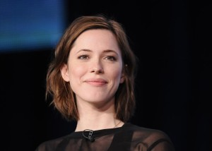 """British actress Hall takes part in a panel discussion of HBO's """"Parade's End"""" during the 2013 Winter Press Tour for the Television Critics Association in Pasadena, California"""