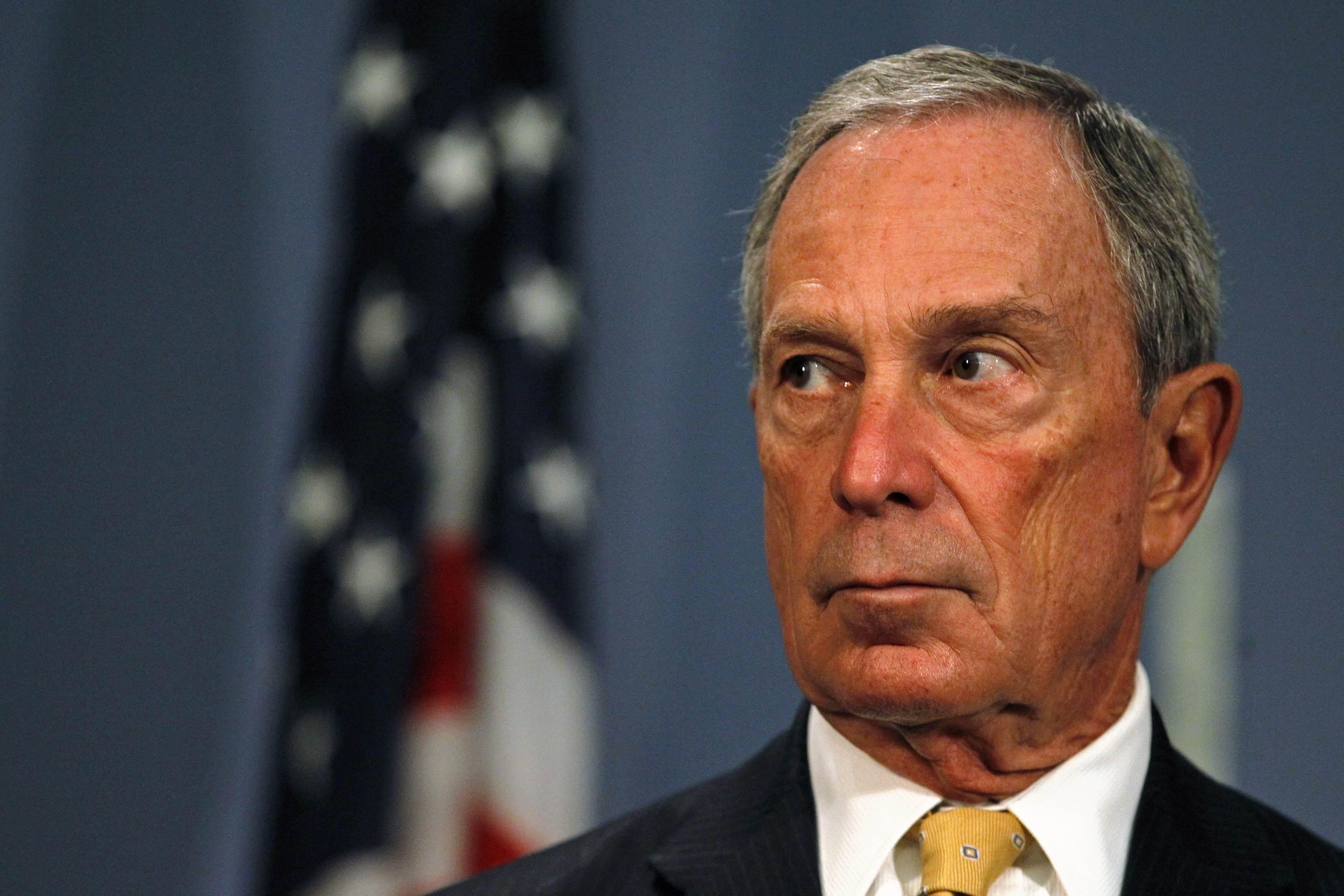 Ex-Mayor Michael Bloomberg