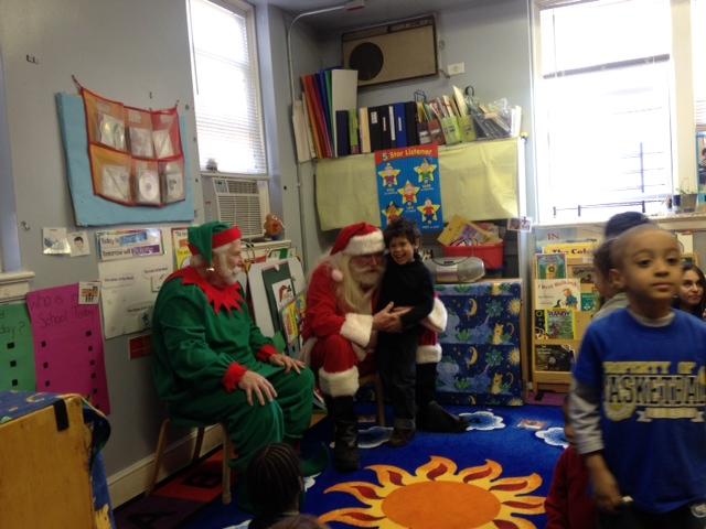 Santa hears a child's requests