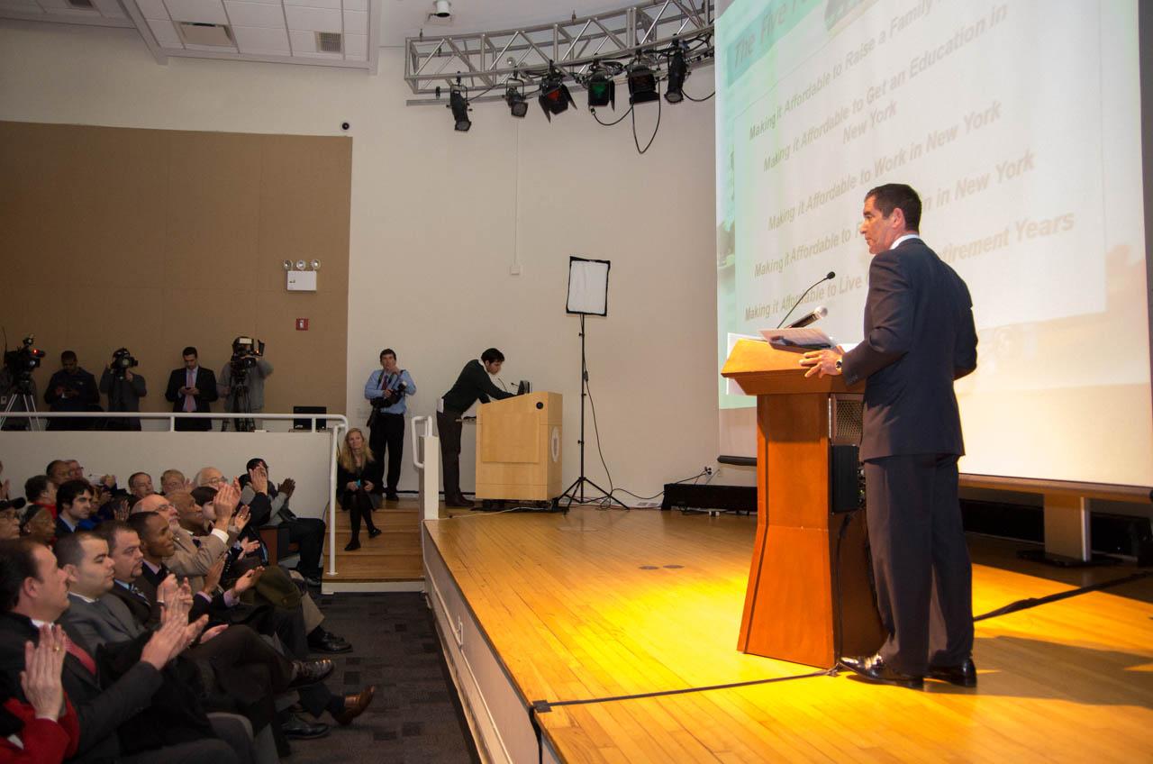 "State Senator Jeff Klein unveils bold new IDC Agenda ""Affordable NY"""