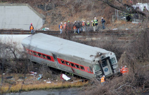 MTA Commuter Train Derailment Dec 1, 2013