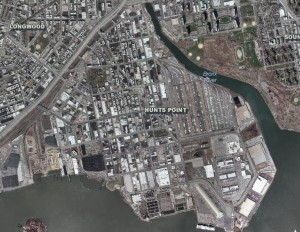 Aerial of Hunts Point 2010