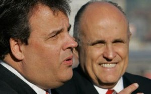 Christie and Giuliani