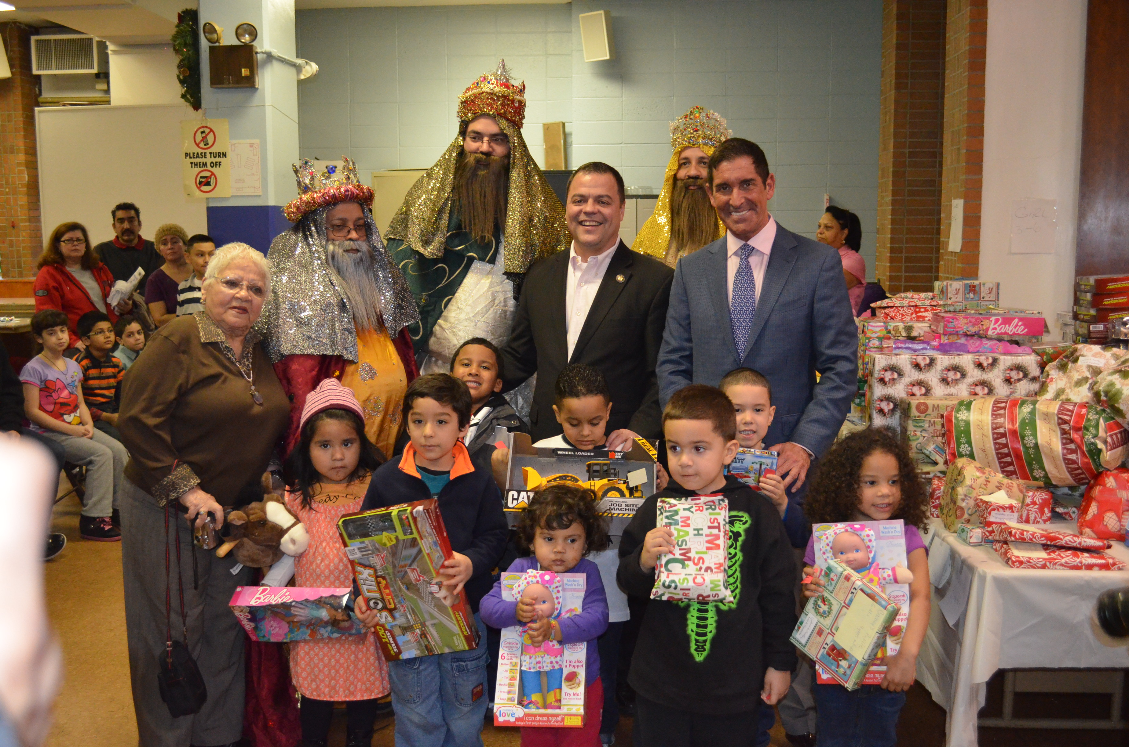 First Annual Three Kings celebration hosted by Senator Klein and Assemblyman Sepulveda