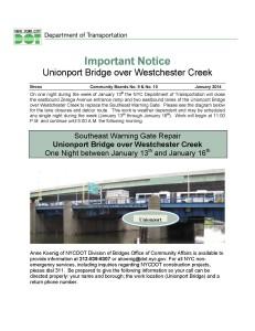 Unionport_Warning_Gate_Repair_-_January_13-16_Page_1