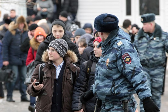 Armed Student Strikes Moscow School