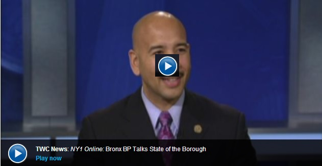Borough President Diaz Gives Post-Speech Interview on NY1–Watch Here