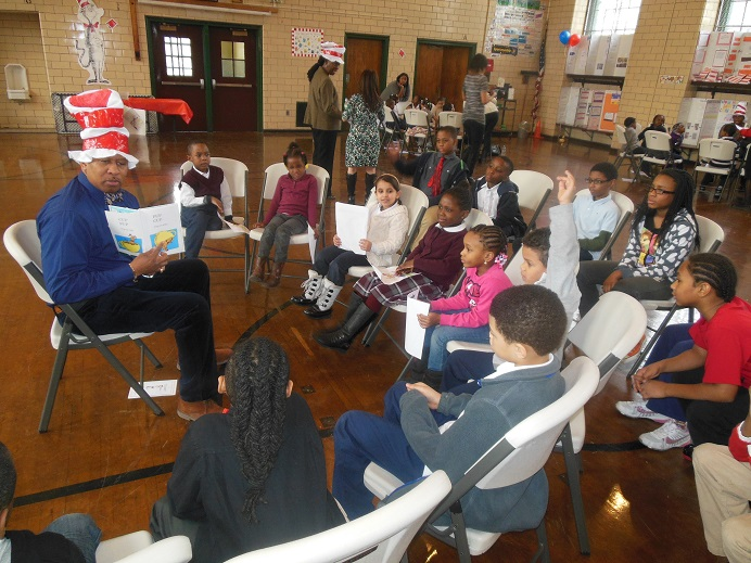 Councilman Andy King Celebrates Dr. Seuss's 110th Birthday With Young Constituents
