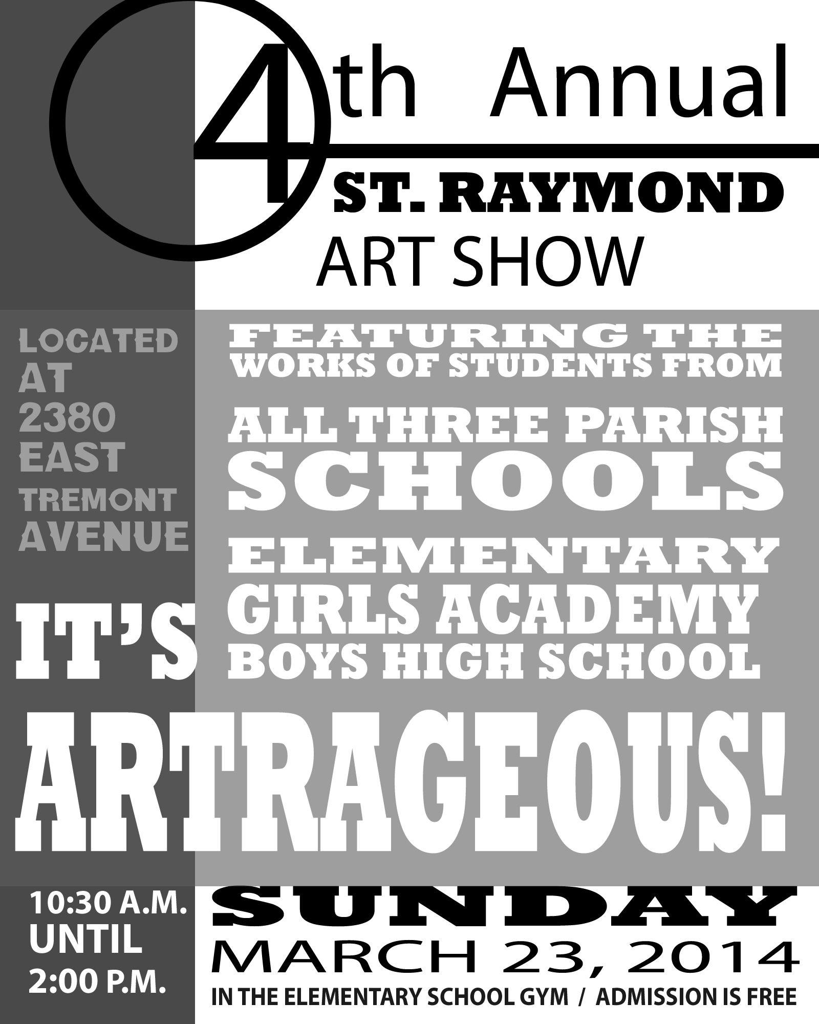 St._Raymond_Parish_Art_Show_Flyer