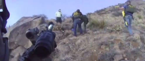 Albuquerque PD Shoots Unarmed Deranged Homeless Man Camping
