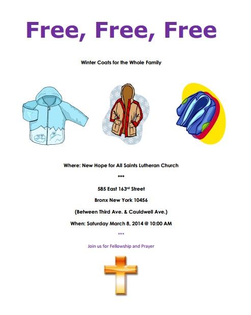 Free Coats In Morissania