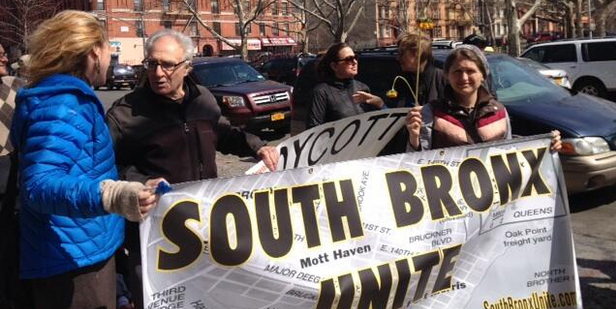 9 Arrested As South Bronx Unite Protests Bronx Fresh Direct Proposal