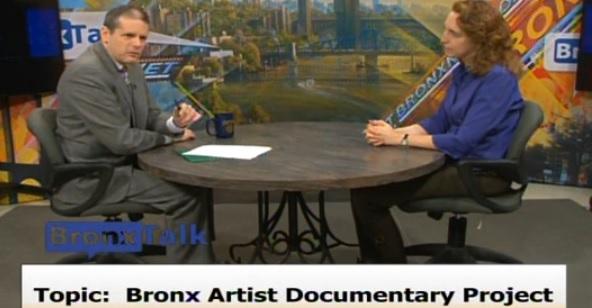 This Week's BronxTalk On BronxNet: Bronx Artist Documentary Project