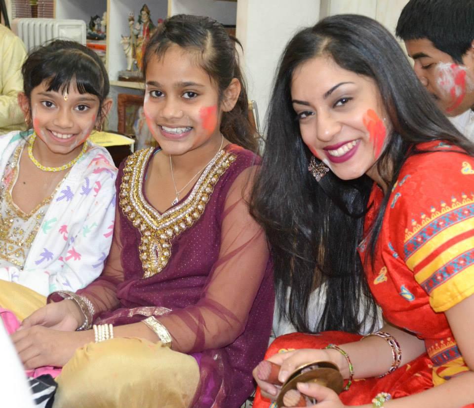 Happy Holi! The Chronicle Visits Vishnu Mandir's Holi Celebration