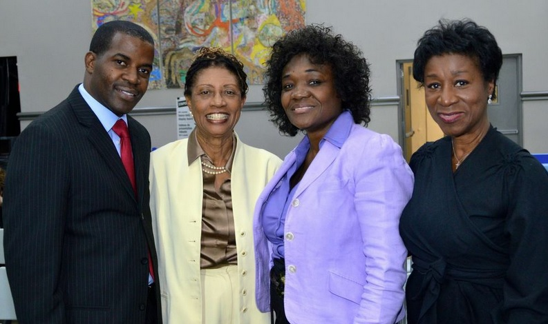 Former Jamaican First Lady Beverly Manley Speaks At Monroe College About Memoir