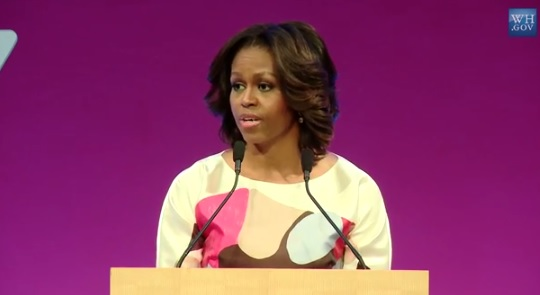 First Lady Speaks In China On The Value Of Students Studying Internationally