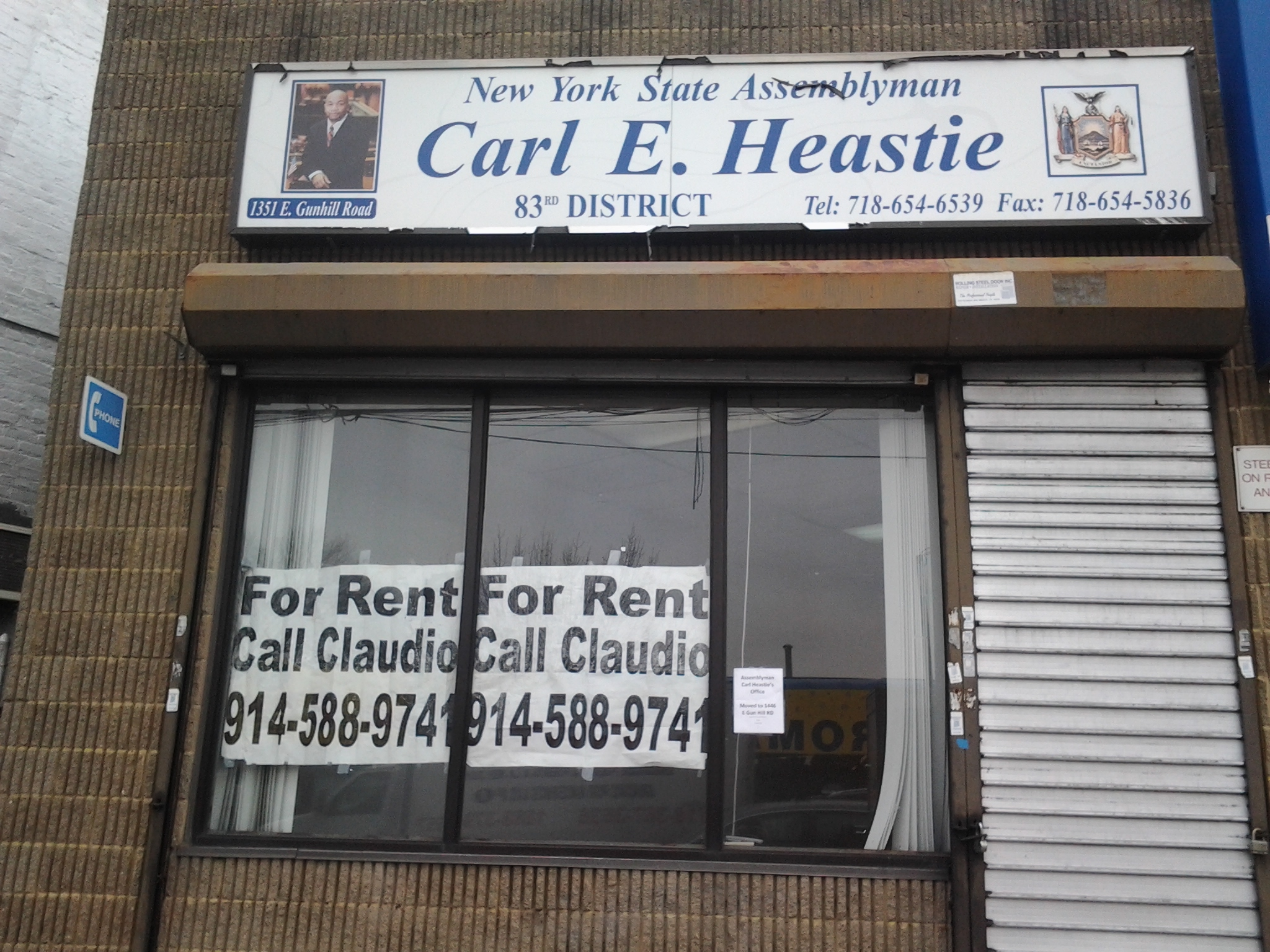 Assemblyman Carl Heastie Moves Office Down The Street
