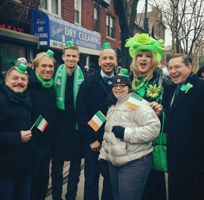 Bronx Pols Send A Message At Queens St. Pat's Parade Today