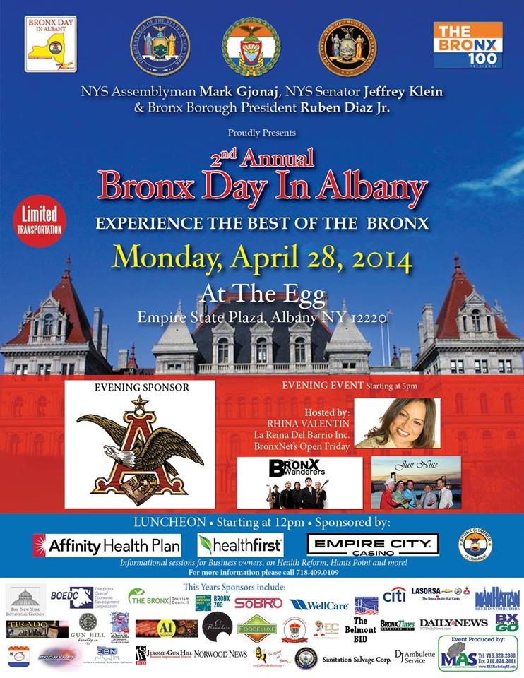 2nd Annual Bronx Day in Albany