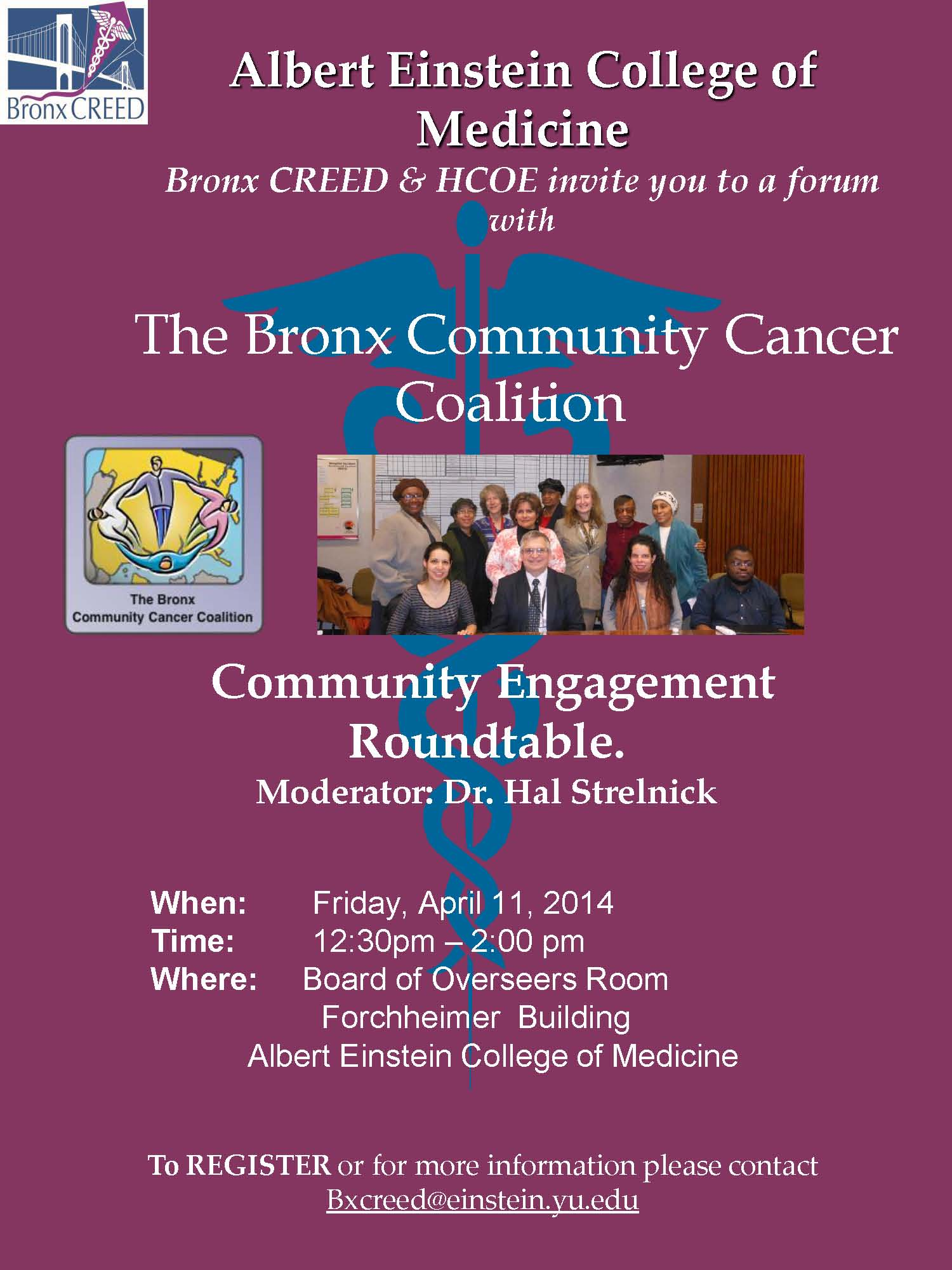The Bronx Community Cancer Coalition Community Engagement Roundtable