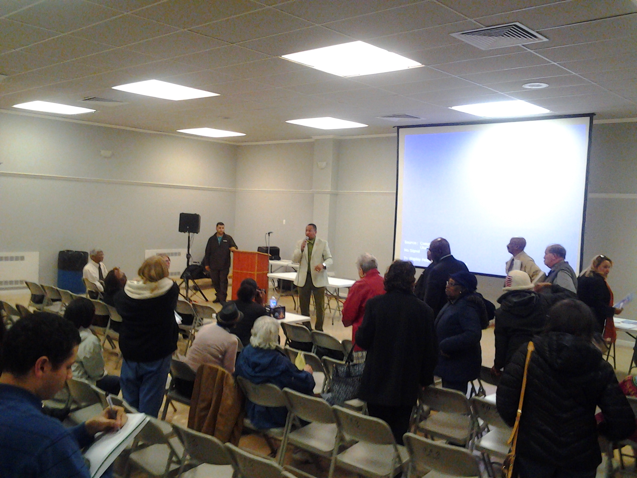 Town Hall On Legionnaires' Disease In Co-op City
