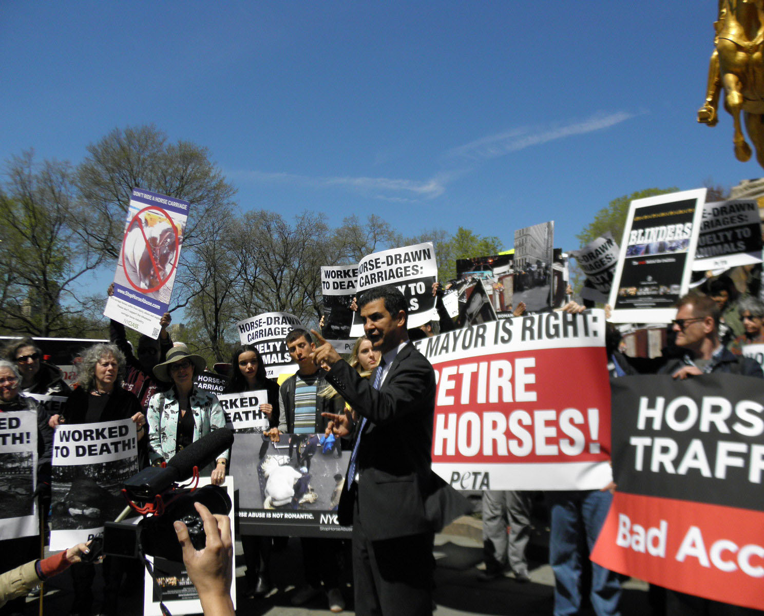 Another Horse Carriage Accident Sparks Protests
