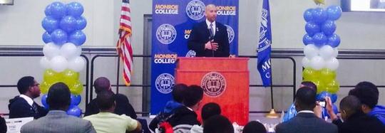 BP Diaz Headlines Male Empowerment Event At Monroe College