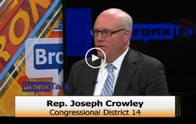 Congressman Crowley On Last Night's BronxTalk With Gary Axelbank