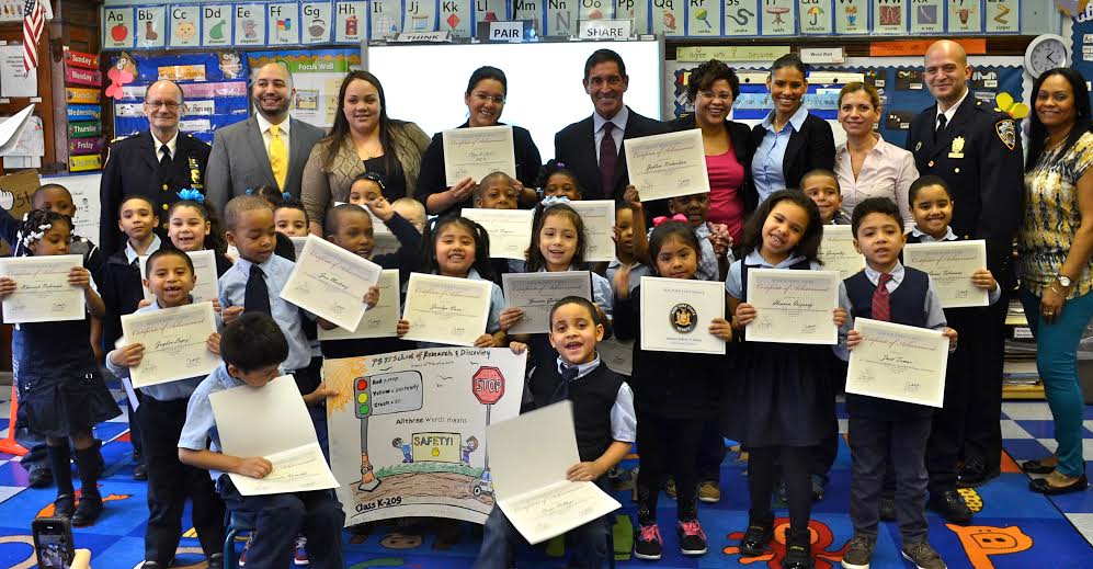 Traffic Safety Poster Contest Winners