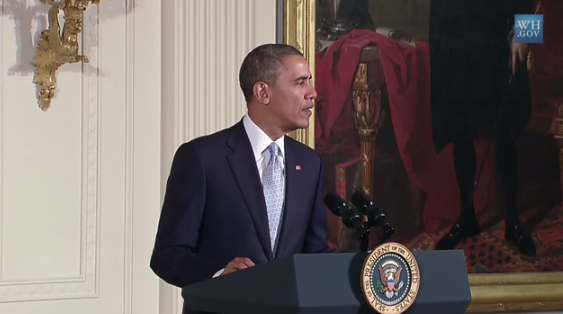 President Obama Speaks at the 2014 Easter Prayer Breakfast, Addresses Kansas City Tragedy