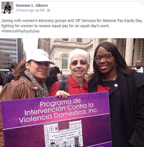 Bronx Electeds Fight On At Equal Pay Day At City Hall Steps