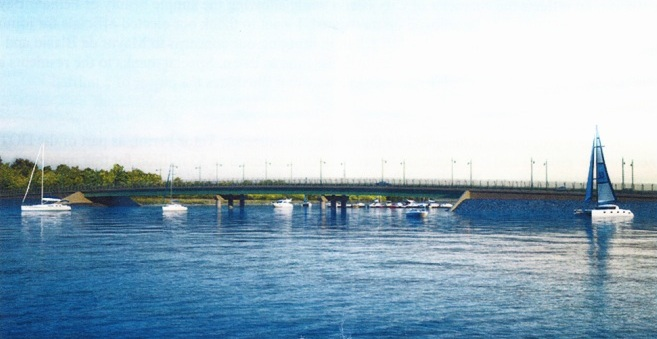 City Island: Their Way is the Causeway!