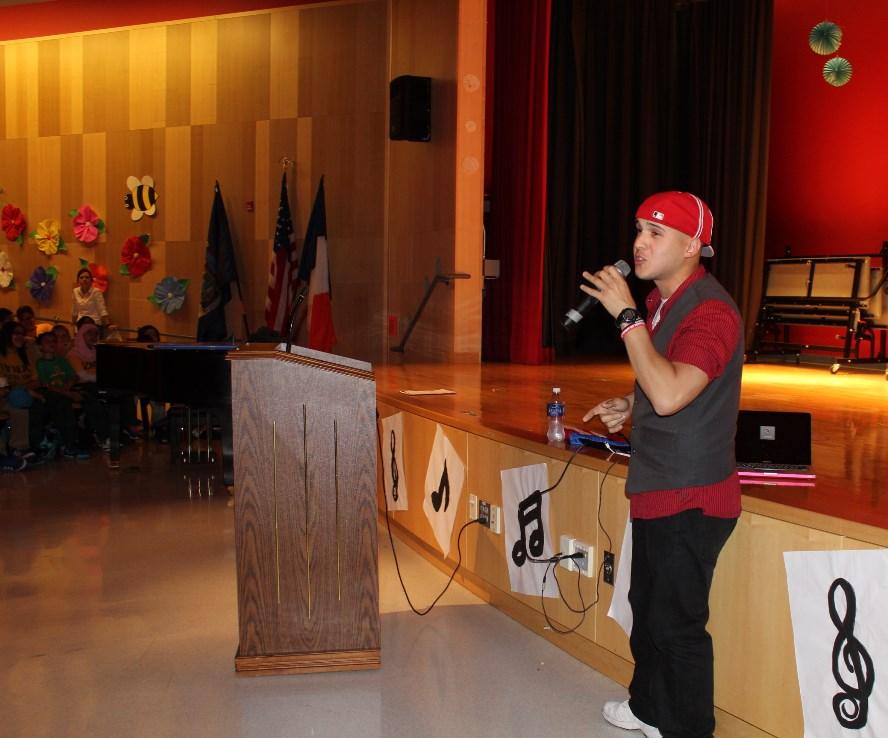 Assemblyman Mark Gjonaj Addresses Bullying Problem at Van Nest Academy with Bronx Hip-Hop Artist, W.R.A.T.H