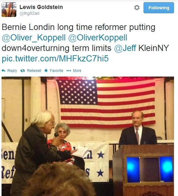 Riverdale Political Club Backs Senator Klein Over Club Founder Koppell