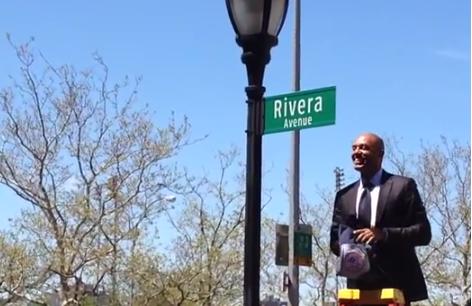 River Avenue Renamed Rivera Avenue Next to Stadium For Mariano
