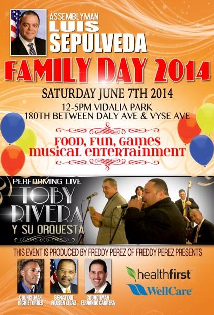 Family Day 2014 At Vidalia Park In Tremont