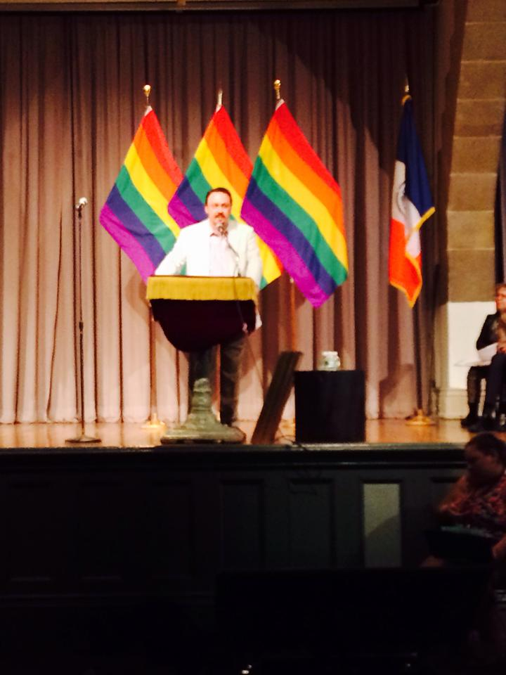 Borough President's Chief of Staff Honored At City Council LGBT Pride Month Celebration