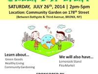 Green Day Event at El Batey de Dona Provi Community Garden