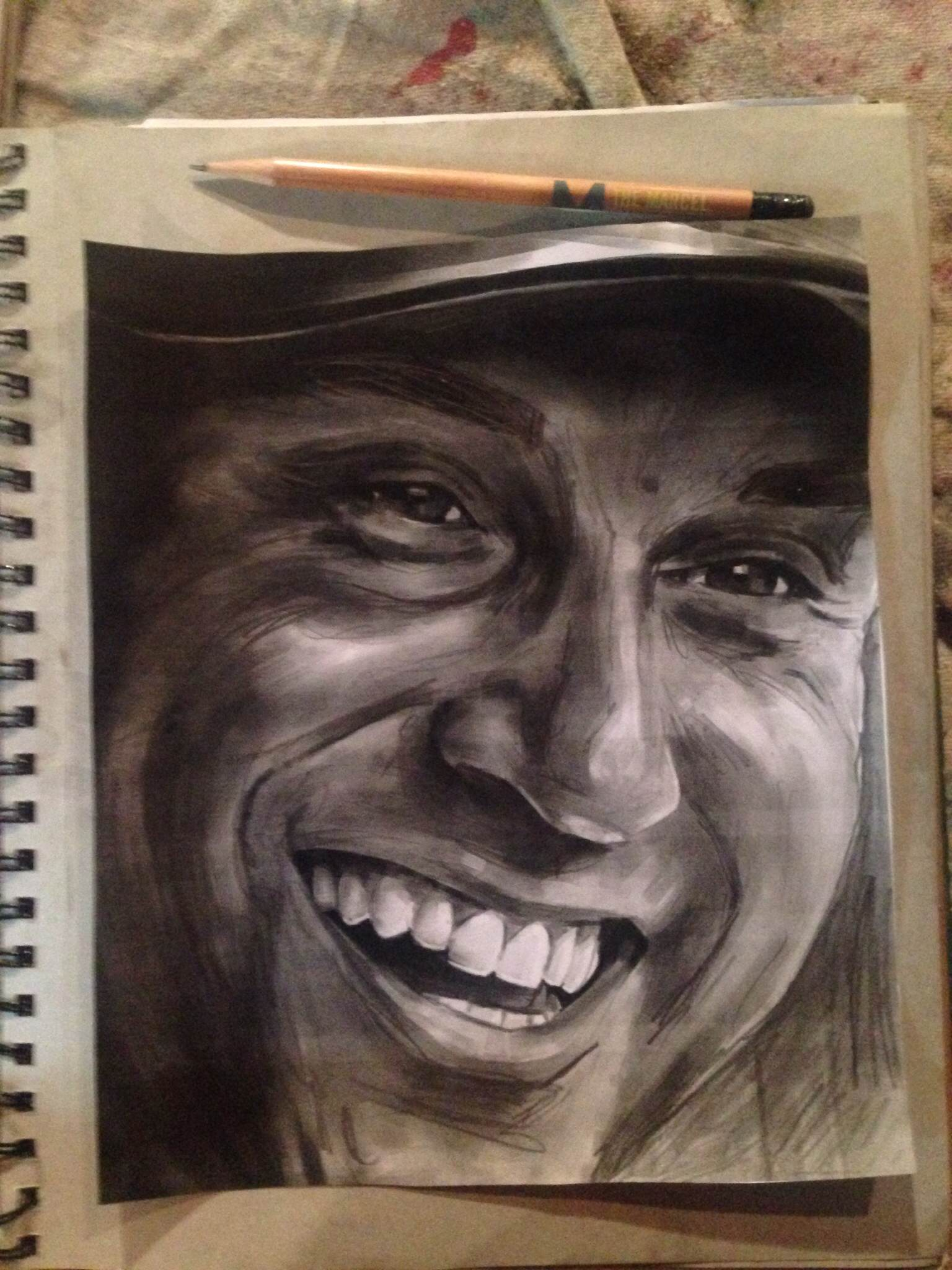 Jeter sketch_NY Yankees