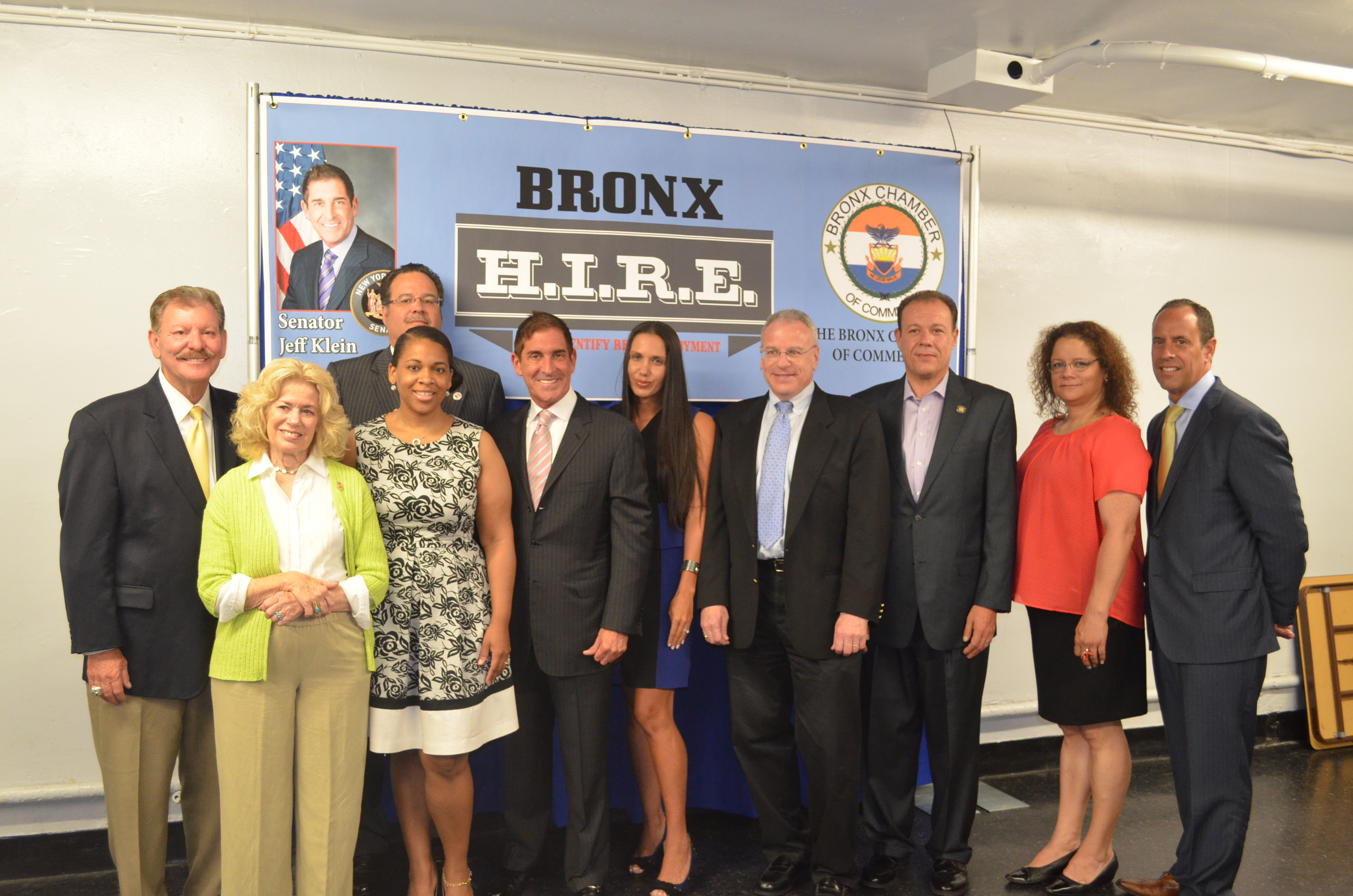 Senator Klein And Bronx Chamber of Commerce Launch Bronx H.I.R.E. Program to Combat Bronx Unemployment