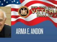 Profiles from the Veterans Hall of Fame 2014 : Arma E. Andon
