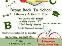 Back To School Literacy & Health Fair In Castle Hill