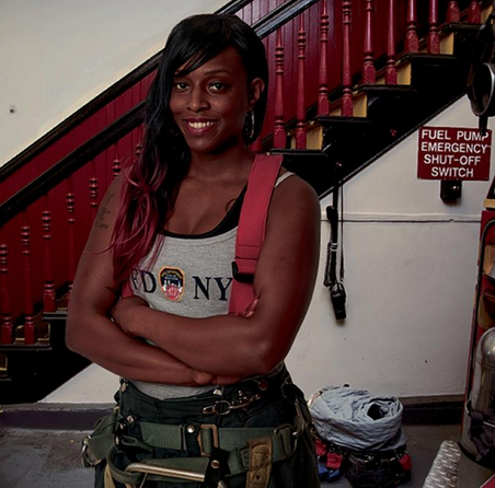 South Bronx Firefighter is FDNY's Calendar of Heroes's First Female Star