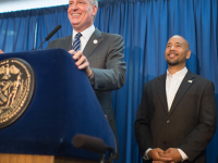 Mayor de Blasio Asks Support for His National Progressive Agenda Combating Inequality
