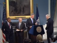 Mayor de Blasio And Police Commissioner Bratton On The Death Of Eric Garner