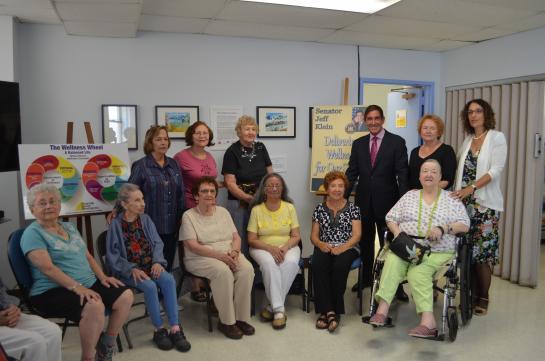 Senator Klein Announces Funding Grant for New Women's Wellness Program at Riverdale Senior Services