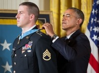 Staff Sgt. Ryan Pitts Receives the Medal of Honor Last Monday