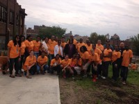 Department of Probation Holds Bronx Community Garden Service Day