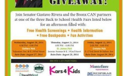 Bronx CAN Back To School Health Fair